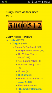 Curry-Heute.com 3 million
