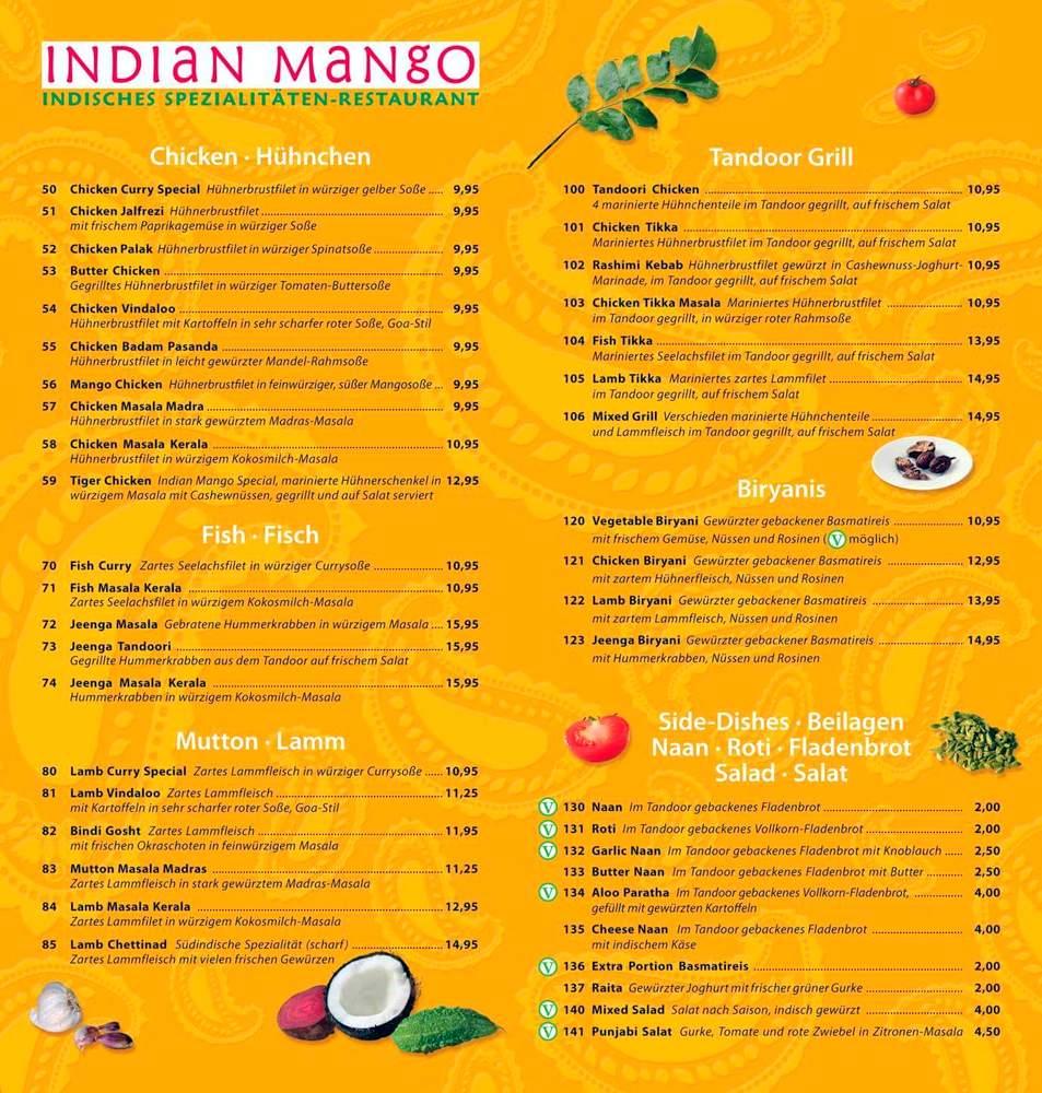 Indian Mango Menu (1)