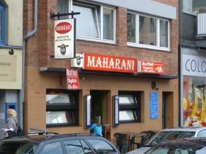 Köln – Maharani – why bother with table cloths?