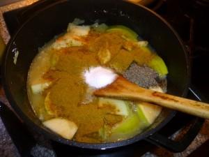 Pork Chops Curry in Apple Masala (5)