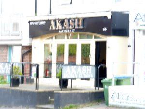 Horsham Akash An Atmospheric Curry House Curry Heute
