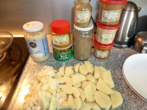 Aloo Taare Ko Curry-Heute (1)