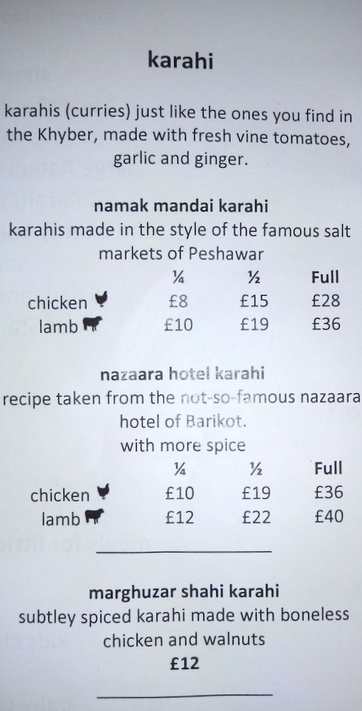 The Menu Does Not Fully Explain Difference However From Experience I Know That They Are Trying